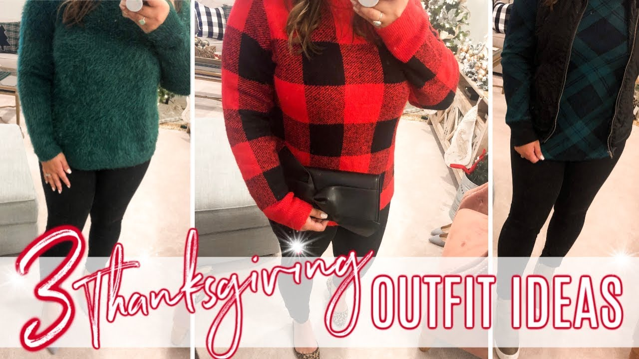 [VIDEO] - 3 THANKSGIVING OUTFIT IDEAS | HOLIDAY LOOKS | JESSICA O'DONOHUE 3
