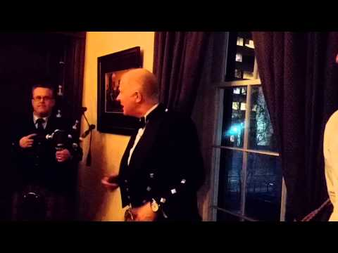 Address to a Haggis by Ian Mair