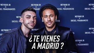 LE DIJE A NEYMAR QUE FICHARA POR EL MADRID