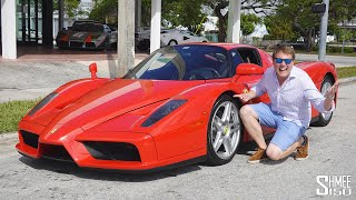Driving a STRAIGHT PIPE Ferrari Enzo! Exclusive Tour at We Are Curated