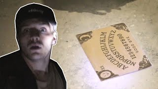 OUIJA BOARD in HAUNTED ASYLUM (WARNING) thumbnail