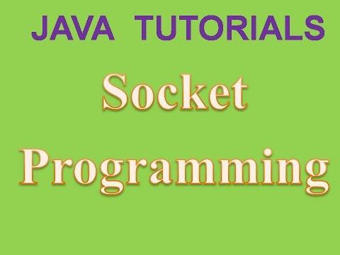 Socket Programming In Java One Way