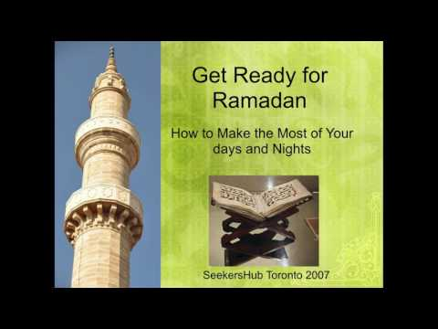 Get Ready for Ramadan: How to Make the Most of Your Days and Nights - Shaykh Qutaiba Albluwi