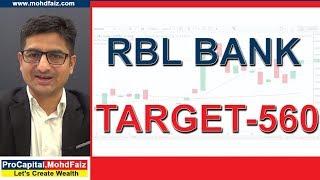 RBL BANK - TARGET 560