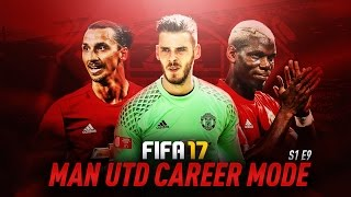 OUR BIGGEST WIN THIS SEASON!!! | FIFA 17: Manchester United Career Mode - S1E9