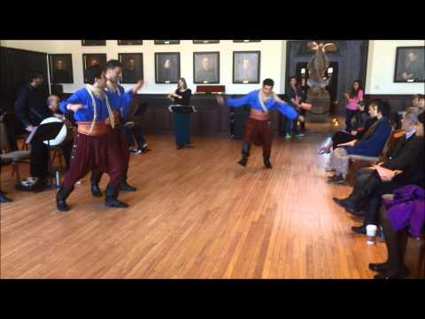 Ala Dalouna with the Mirza Dance Troupe - Boston College Middle East Ensemble