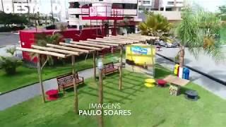 Praça Pra Viver Feliz  - Península da Ponta d'Areia - Delman