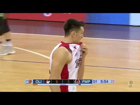 ABA Liga 2017/18, Round 10 match: Petrol Olimpija - FMP (3.12.2017)