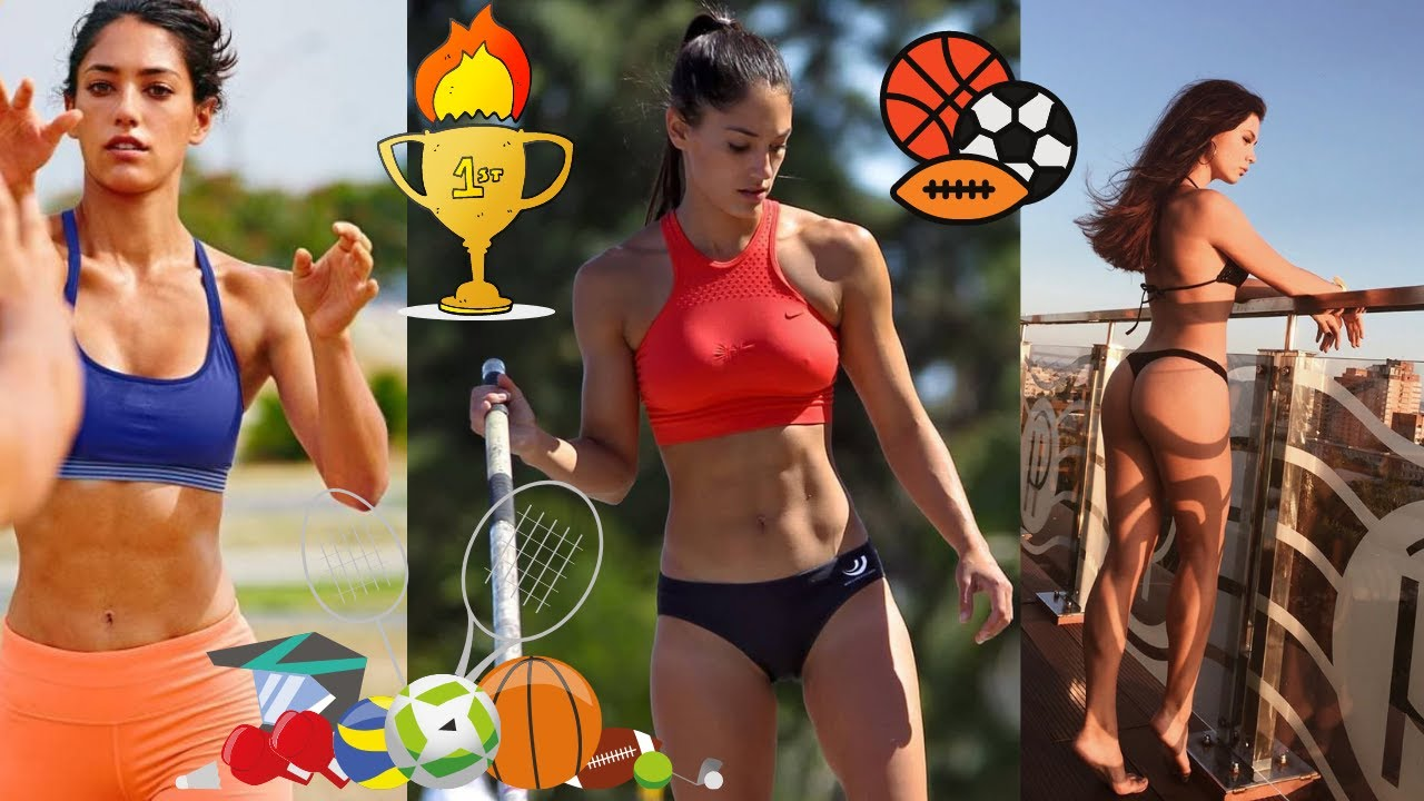TOP 10 HOTTEST GIRL ATHLETES IN THE WORLD 2021