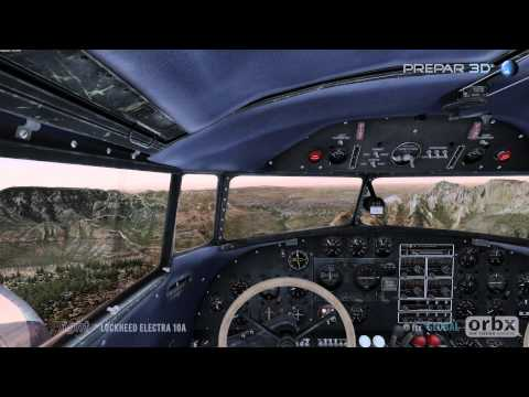 Prepar3D - Lockheed Electra 10A - KSEZ