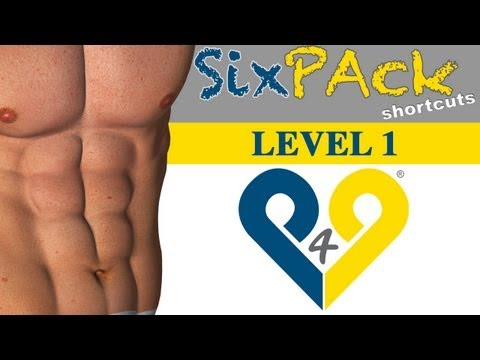 4 weeks Six Pack Abs workout - Level 1