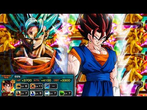 SHOWCASING THE NEW SSR STR VEGITO BEFORE HE GOES BLUE! Dragon Ball Z Dokkan Battle