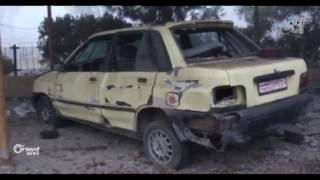 20 قتيلا و65 جريحا بغارة للتحالف الدولي على  بلدة النصورة غرب الرقة