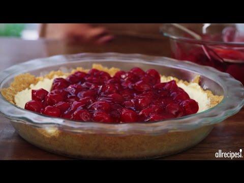 How to Make Unbaked Cherry Cheesecake | Dessert Recipes | Allrecipes.com