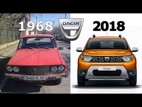 Dacia Evolution: 1968