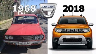 Dacia Evolution: 1968 - 2018