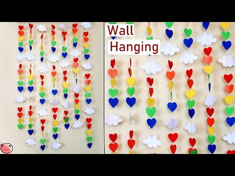 Best Out of Waste Shopping Bag Craft Idea || Easy Wall Hanging Making at Home || DIY Craft