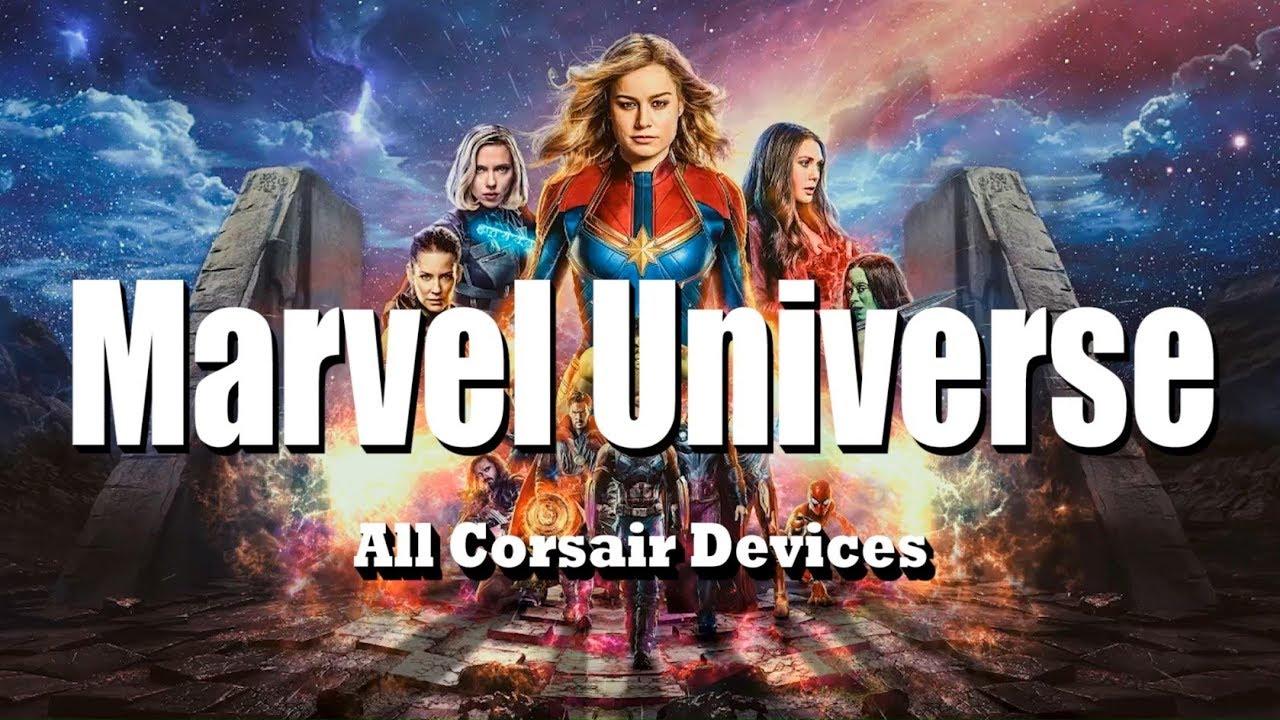 RGB Profiles: Marvel Universe (12 Profiles) - The Corsair User Forums