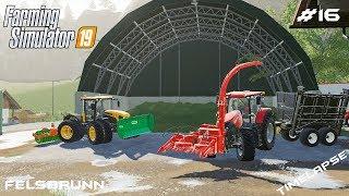 Silage harvest | Animals on Felsbrunn | Farming Simulator 19 | Episode 16