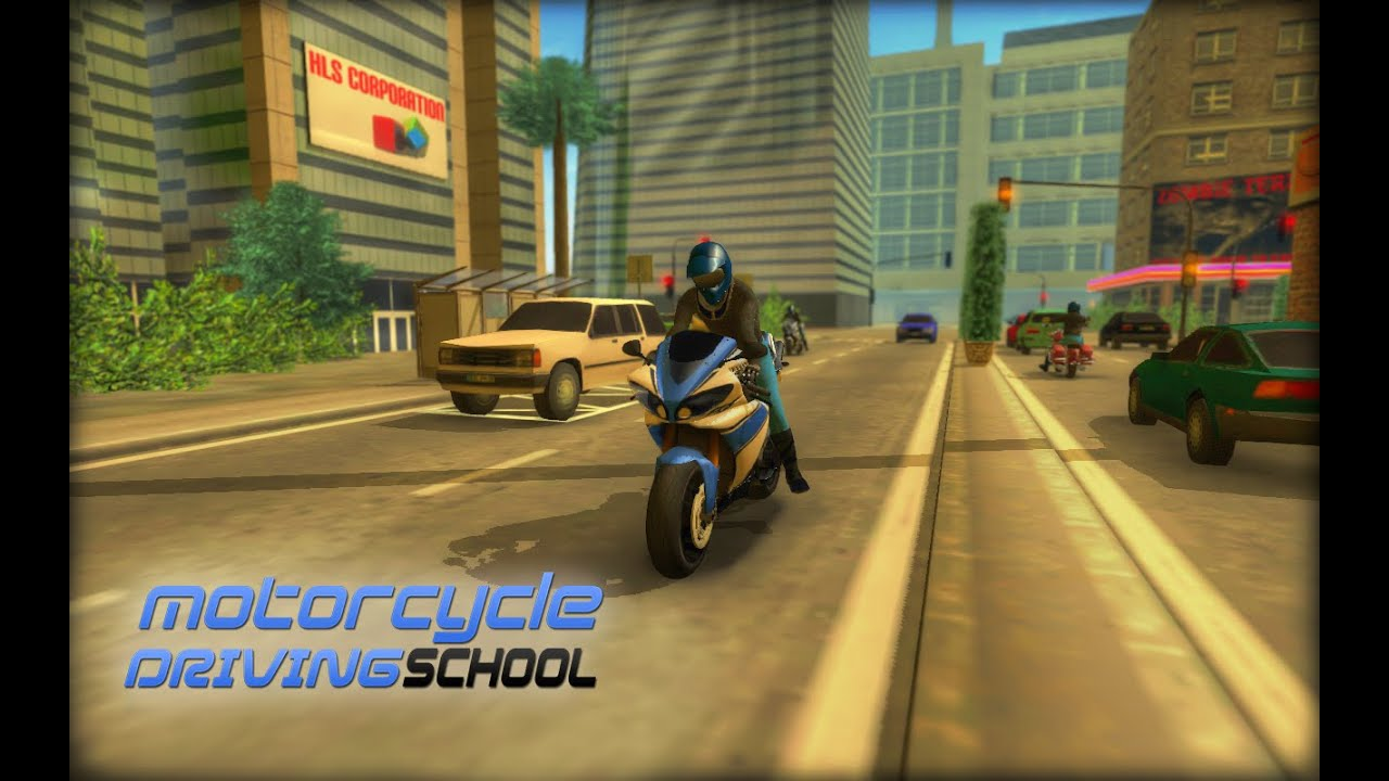 Motorcycle driving school for android ios youtube for Motor city driving school