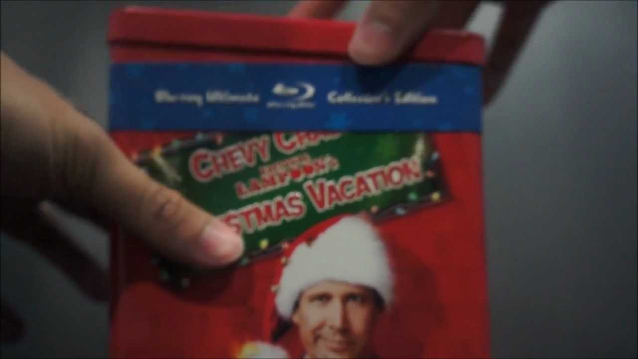 national lampoons christmas vacation ultimate collectors edition blu ray tin unboxing