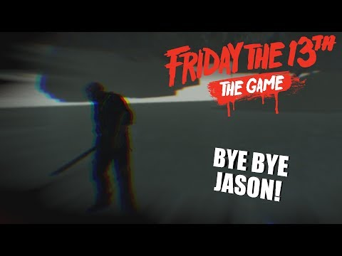 FLYING OUT THE MAP! | Friday The 13th: The Game JASON VOORHEES GAMEPLAY