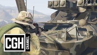 Bulletproof Window Test on Gunrunning DLC Vehicles - GTA Online