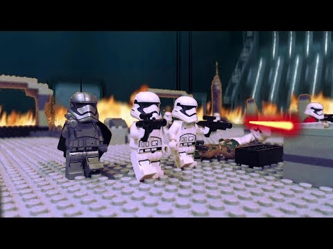 LEGO Star Wars the Last Jedi: Battle in the First Order Hangar Bay