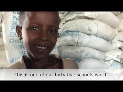"""Thumbnail for video """"Ethiopia drought - school feeding"""""""