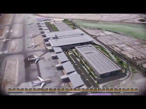 Bahrain Airport Timelapse 2015 11 21