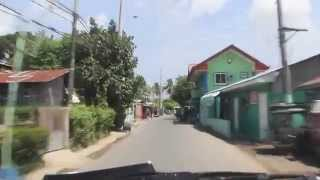 Driving through Bacao, General Trias. Philippines