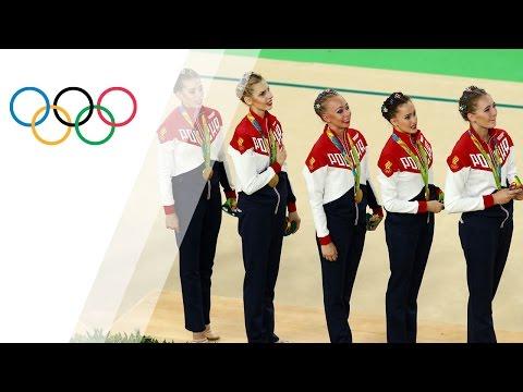 Russia continue golden streak in rhythmic gymnastics - Olympic News