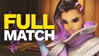 Overwatch Sombra: A Full Match at 1080p 60fps