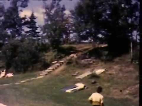 SYVC # 555 BHARAT & FAMILY GO TO YOGA CAMP 1969. NO SOUND.