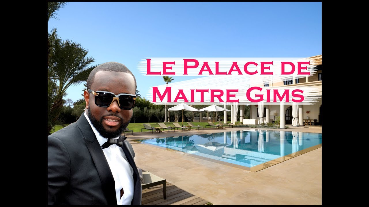 Officiel la luxueuse maison de maitre gims d voil e for Architecture maison de maitre