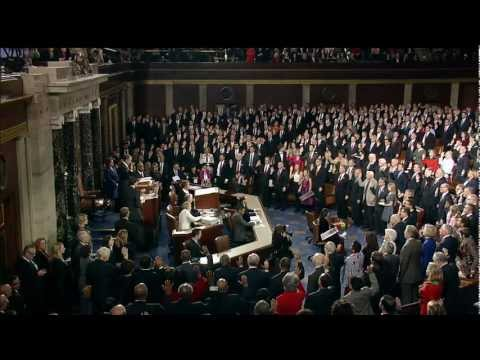 113th Congress Sworn in by House Speaker John Boehner