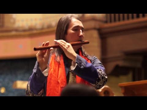 Ron Korb - Beckett's Whisper - Irish flute, flute, violin, cello and piano
