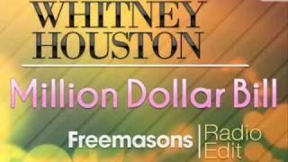 Whitney Houston Million Dollar Bill Freemasons Radio Edit