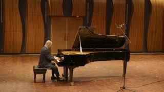 Russell Hirshfield, piano - Alexander Scriabin: Etude, Opus 8, No. 11