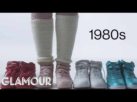 100 Years of Womens Sneakers  Glamour