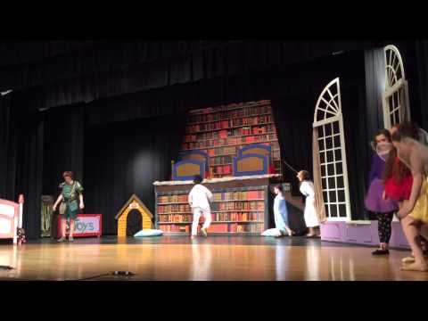 Flying High with Peter Pan at Doddridge County High School