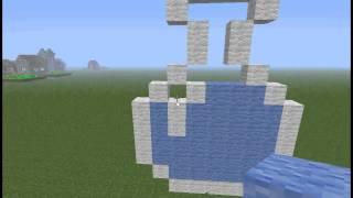 2 Видео урок строим колбу с водой