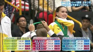 Japan Open 2019 medal ceremony