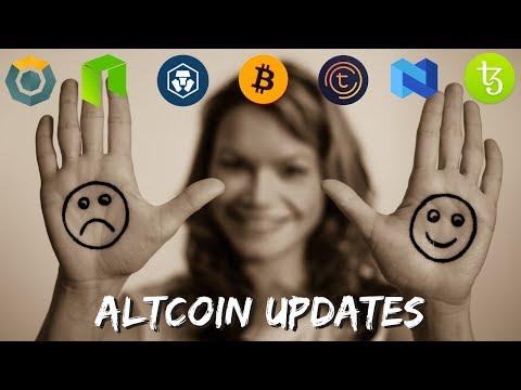 Top Altcoin Updates – NEO, Crypto Com, Tezos, Tomochain, Komodo, BNB, and More!