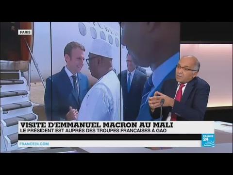 """Emmanuel Macron au Mali : """"La nature du danger a changé"""""""