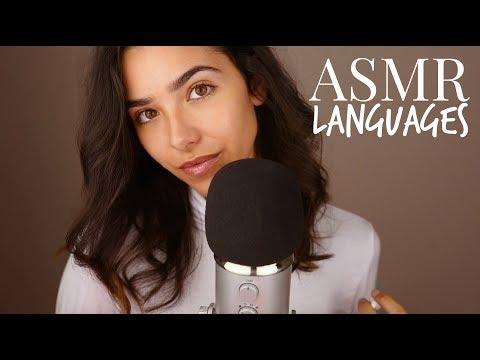 ASMR Different Languages Whispering (Russian, German, Portuguese, Spanish, Arabic, Japanese...