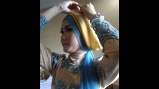 Tutorial Hijab Pesta Pernikahan, Wisuda ala Lazera