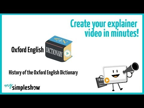 History of the oxford english dictionary mysimpleshow youtube history of the oxford english dictionary mysimpleshow ccuart Images