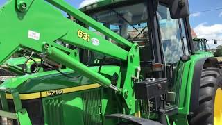 2001 john deere 6210 premium ex environment tractor 1400 hours