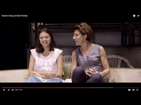 Tamsin Greig and Bel Powley on the Royal Court Theatre